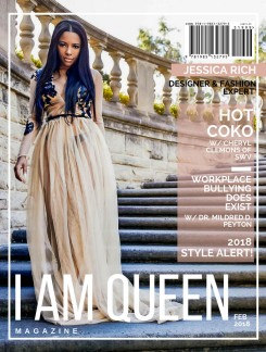 Jessica Rich Cover I AM Queen Magazine